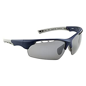 Prolight Mikasuki Polarized Sunglasses with Carrying Case (Tsukiyo, Mirror-coated neutral grey)