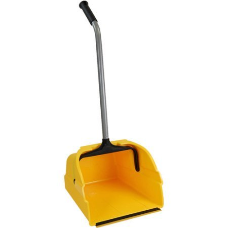 Quickie Jumbo Debris Dust Pan with Handle. Helps Clean Up Large Messes At Home, In The Garden Or At The Jobsite.