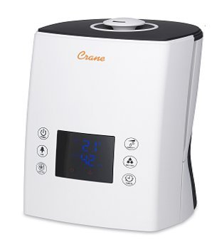 Crane USA Digital Ultrasonic Warm & Cool Mist - Cool Tone Skin Warm Or