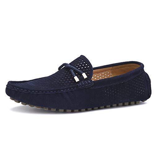 Gamuza Yaer Zapatos Conducción Mocasines De Azul Clásico 1 Hombres xqnwzqr6I