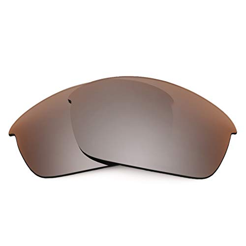 Revant Polarized Replacement Lenses for Oakley Flak Jacket Elite Flash Bronze MirrorShield