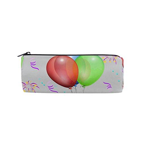 Pencil Case Balloon Liqueur Glasses Gift Pen Bag Students Stationery Storage Pouch, Makeup Pouch Wallet for Women - Liqueur Glass
