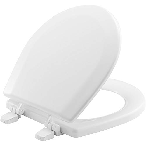 BEMIS TC50TTA 000 MARINE Toilet Seat, Durable Enameled Wood, -