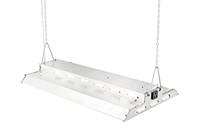 Durolux DLED828W LED Grow Light | 2 Feet by 1 Foot | 160W (0.5 W LEDs x 320 Pcs) with White 5500K FullSun Spectrum and 20000 Lux Great for Seeding and Veg Growing! Over 50% Energy Saving!