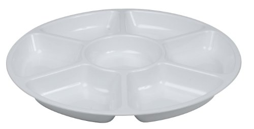 Fineline Settings Platter Pleasers White 16