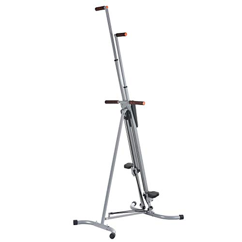 Murtisol Exercise Climber Fitness Vertical Climbing Cardio Machine with LCD Monitor,Natural Climbing Experience for Home Body Trainer by Murtisol (Image #8)