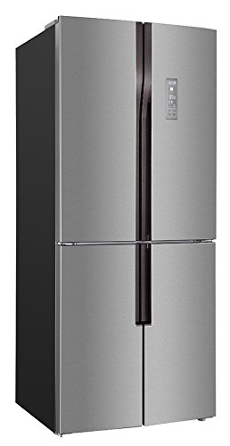 Avanti FF4D15H3S 15.3 CF French Door Refrigerator Bottom Mount Freezer, Stainless Steel