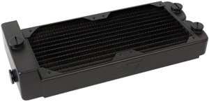 Swiftech MCR220-QP Quiet Power Radiator REV.2 Dual 120mm W/Built-in Reservoir by Swiftech