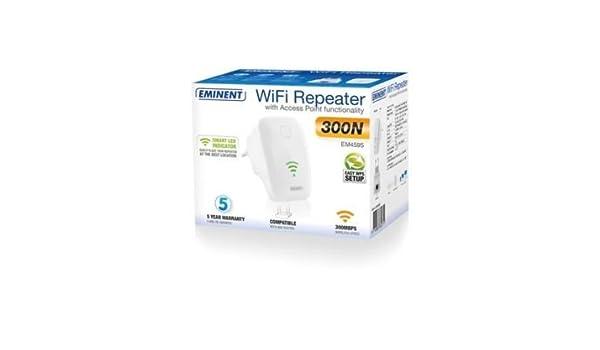 repetiteur repeteur inalámbrico amplificador WiFi Reseau WPS 300 Mbps Internet: Amazon.es: Electrónica