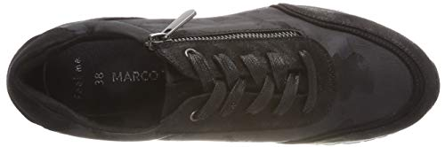 Femme Basses Comb Tozzi 31 Marco Black 098 Sneakers Noir 23742 OwfqxHPX