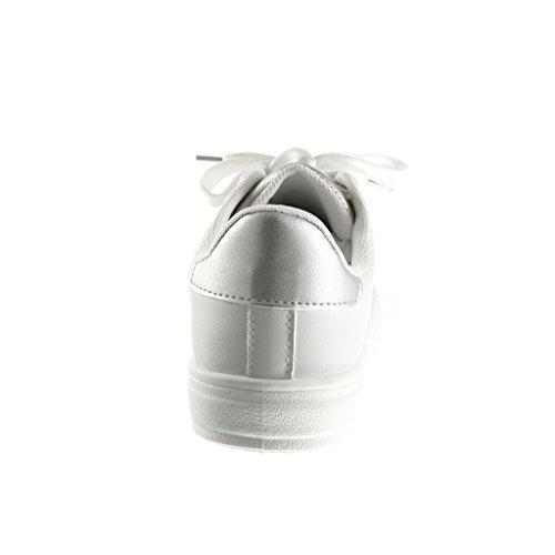 Piattaforma Stella 2 Oro Zeppa Angkorly Scarpe Tennis 5 Sneaker Tacco Moda Cm Donna Zeppe qBnzaYw