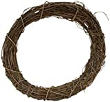 "Bulk Buy: Darice Grapevine Wreath 12"" Bulk GPV12 (3-Pack)"