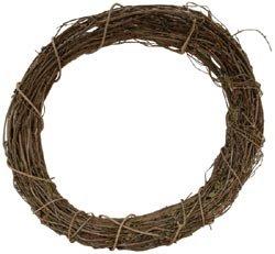 Bulk Buy: Darice Grapevine Wreath 12\