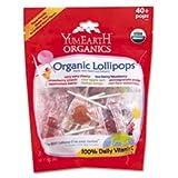 Organics Lollipops, 8.5 oz, Assorted Flavors