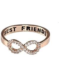 Best Friends Forever Infinity Ring for Women
