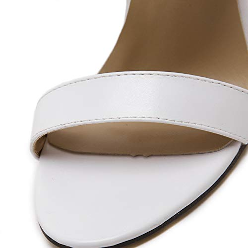 Fuxitoggo Backless Pumps Damen Damen Damen Peep Toe High Heel Sexy Slip auf Schuhen (Farbe   Schwarz, Größe   EU 40) ae034c