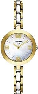 Tissot FLAMINGO T0032092211700 - Reloj de mujer de cuarzo, correa de acero inoxidable color varios colores
