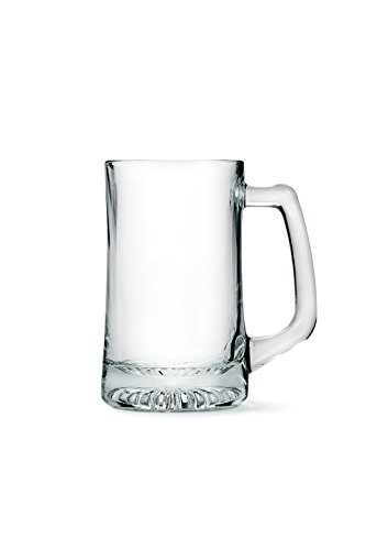 Weddingstar Engravable Beer Mug, Clear