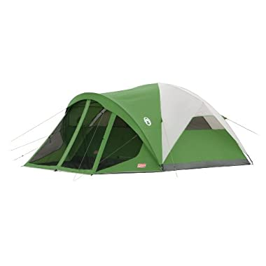Coleman Evanston 6 Screened Tent,Green,6-Person