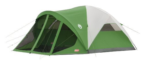 Coleman Evanston 6 Screened Tent,Green,6-Person (Coleman 6 Tent)