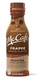 McCafe Frappe, Mocha, 13.7fl.oz.(Pack of 12)