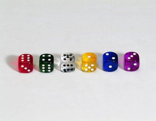 Weible Spiele 50 Würfel aus Acrylglas Transparent (16 mm), Polybeutel B002QNYFTG Polyhedrische & Rollenspiel-Würfel Große Klassifizierung | Economy