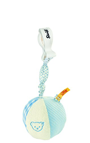 Steiff Rattle Ball with Rustling Foil - - Steiff Ball