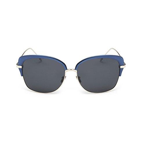 EYSHADE BSG800037C3 Fashionable Resin Polarized Lens Retro Metal Frames - Express Hut Sunglasses Shipping