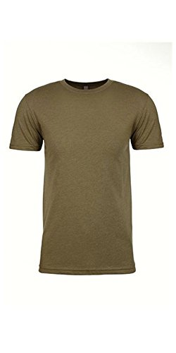 Next Level Apparel N6210 Mens Premium CVC Crew - Military Green, Medium