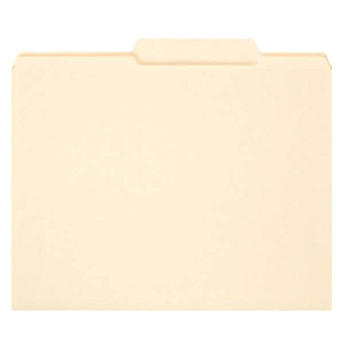 - TableTop King 10376 Letter Size File Folder - Guide Height with Reinforced 2/5 Cut Right of Center Tab, Manila - 100/Box