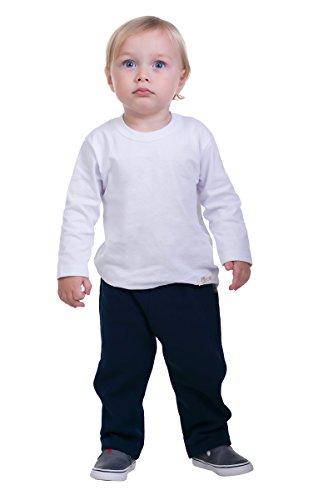 Pulla Bulla Baby Boy Sweatpants Fleece Jogger Pants 6-9 Months Navy Blue