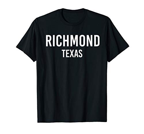 RICHMOND TEXAS TX USA Patriotic Vintage Sports T-Shirt
