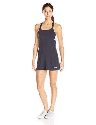 Tennis Nike Dress (ASICS Women's Rally Dress Shorts Sleeve, Black/White, Small)