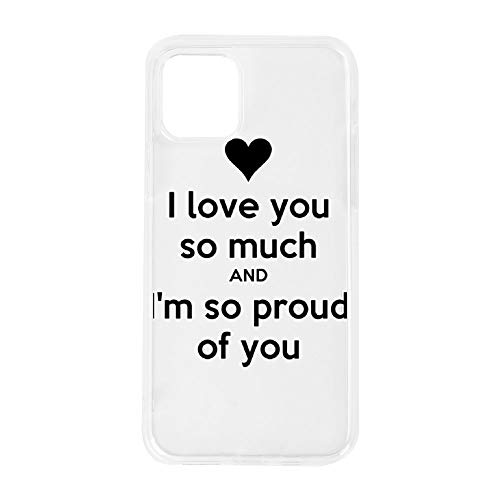 Trendy Style Phone Case for IPHONE11 Pro I Love Me Myself and I Husband White IPHONE11 pro