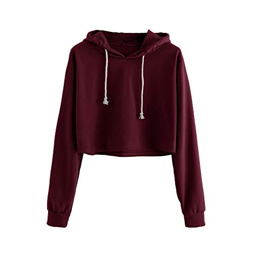 crop hooded sweatshirt - 7