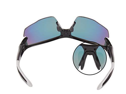 Lentes Deportivas UV Intercambiables para A Aili Set Protección 3 Polarizadas De Hombre Mujer 400 C con Deportivas Gafas yOOfXP