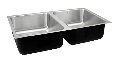 Just UD-ADA-1832-A-5.5-DCR ADA Compliant Double Bowl 18-G...