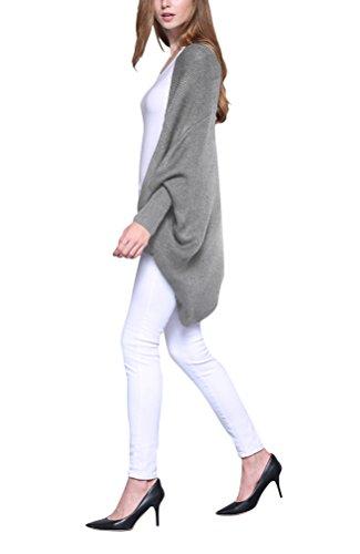MILEEO - Cárdigan - para mujer gris
