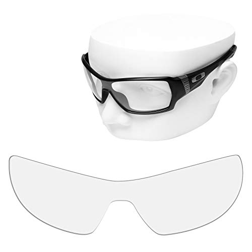 OOWLIT Replacement Sunglass Lenses for Oakley Offshoot HD Clear Non-polarized -