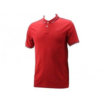 Lee Cooper M Gurval Mc 3248 Garment Wash-Polo Hombre rojo XXXL ...