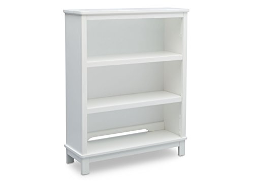 Delta Children Epic Bookcase / Hutch For Books and Toys - Bianca White - Preschooler Shelf Storage