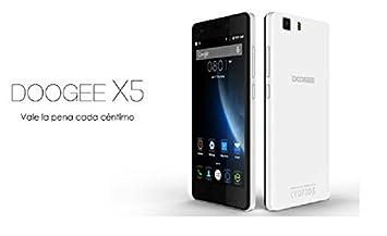 POTO DOOGEE X5 Smartphone, 5.0 Pulgadas HD Screen, Dual sim ...