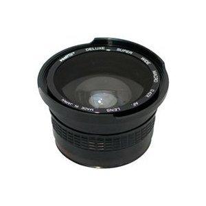 .42 X HD超広角パノラママクロ魚眼レンズレンズfor the Canon EOS Rebel t1i、t2i ( EOS 550d、XS、XSIデジタルSLRカメラwith 18 – 55 mm、55 – 200 , 75 – 300 mm , 50 mm 1.4 Canonレンズ   B003Y58IXO