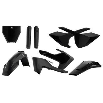 Acerbis Full Plastic Kit Black for Husqvarna FC 450 (Acerbis Plastic Kits)