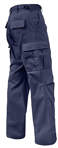 Rothco Relaxed Fit Zipper Fly BDU Pants, Navy Blue, 3X-Large
