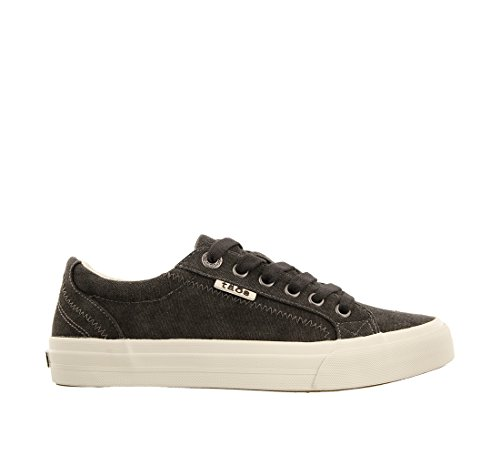 Taos Sneaker Canvas Footwear Charcoal Plim Women's Wash Soul fIfwzrqH