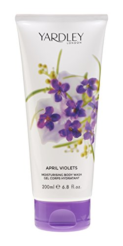 Yardley of London Moisturizing Body Wash for Women, April Violets, 6.8 Ounce -  Y9200018-6