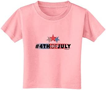 TooLoud Hashtag 4th of July Toddler T-Shirt