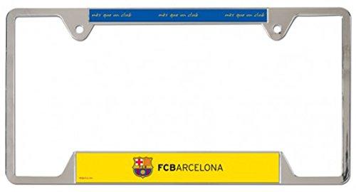 Int'l Soccer Barcelona Football Club Metal License Plate Frame