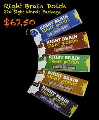 Right Brain Dolch 220 Sight Word (Right Package)